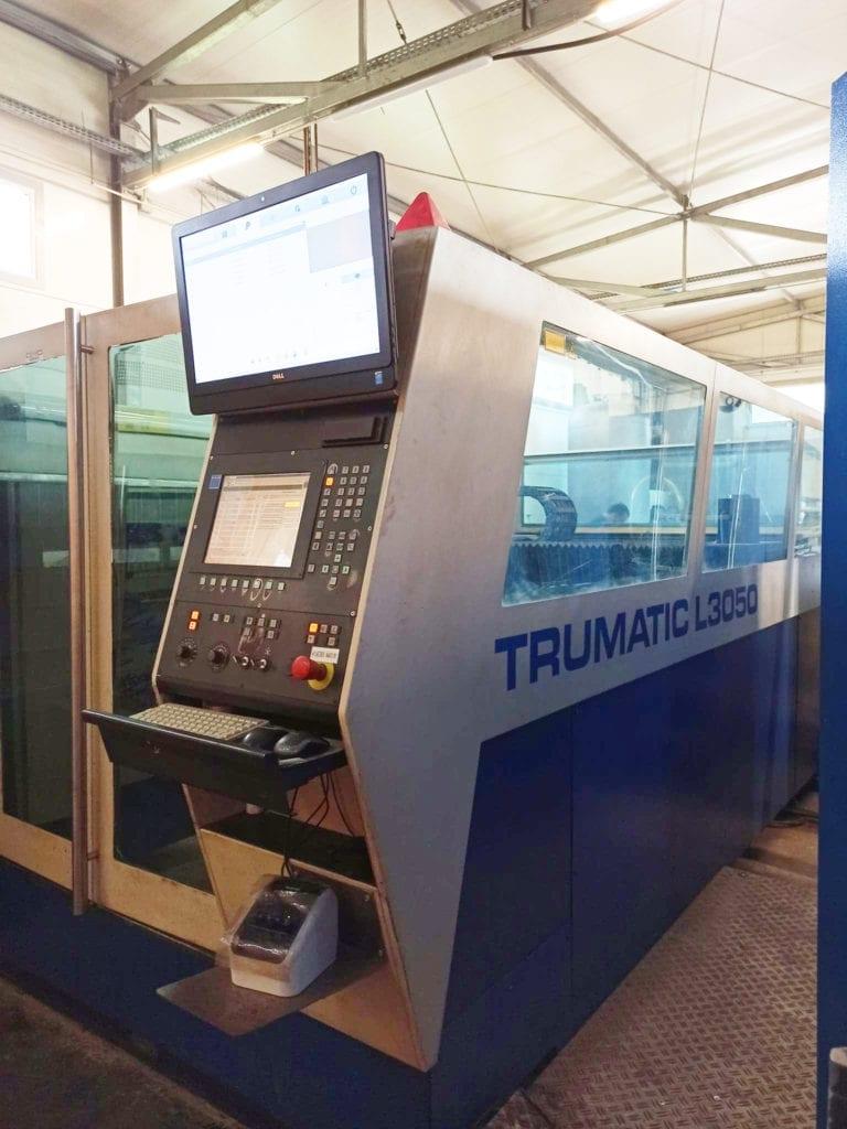 Laser do obróbki blach marki TRUMPF L3050