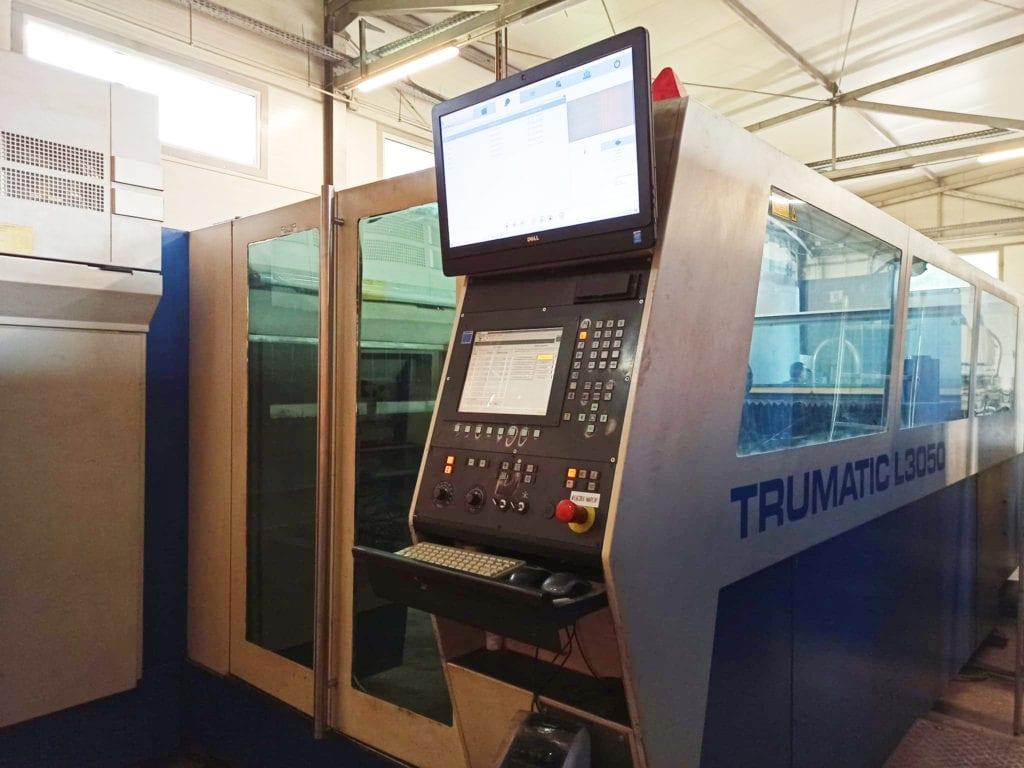 Maszyna tnąca laserowo blachy ze stali
