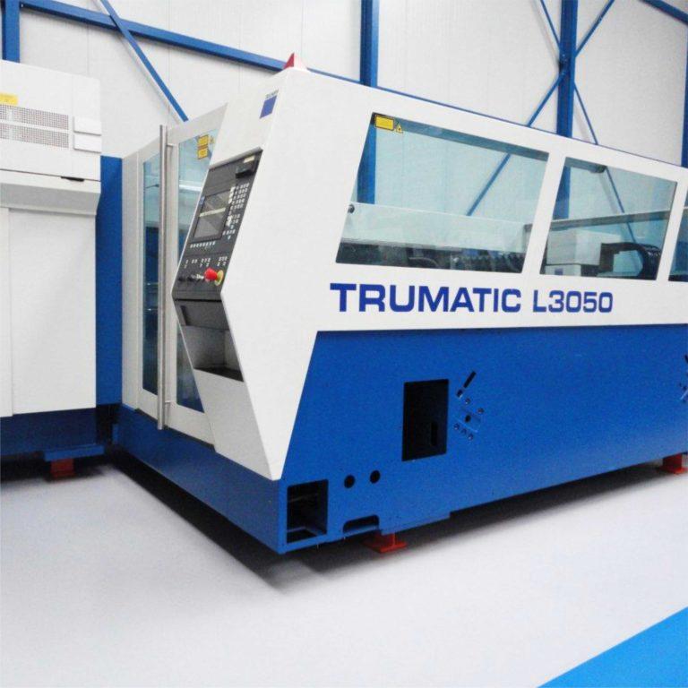 Maszyna ze źródłem CO2 TRUMPFMATIC L 3050