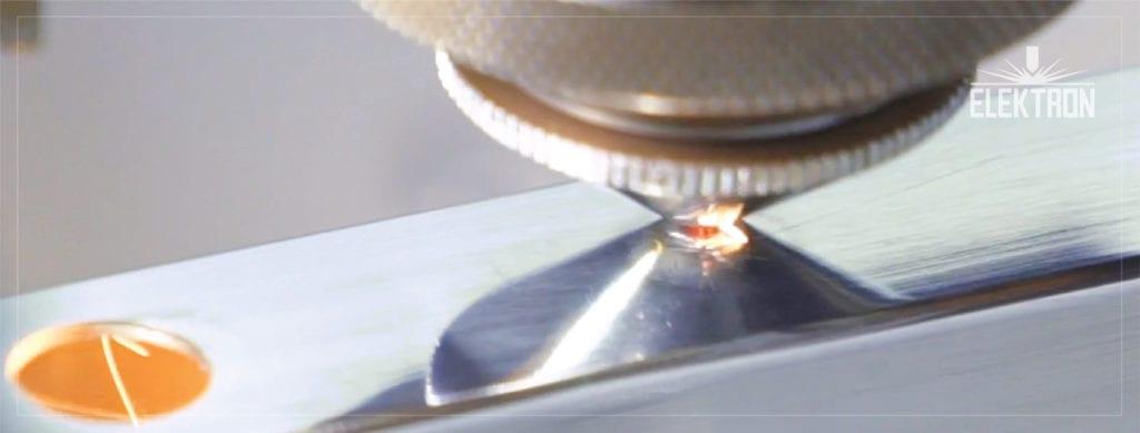 Cięcie laserem otworów okrągłych w profliu stalowym