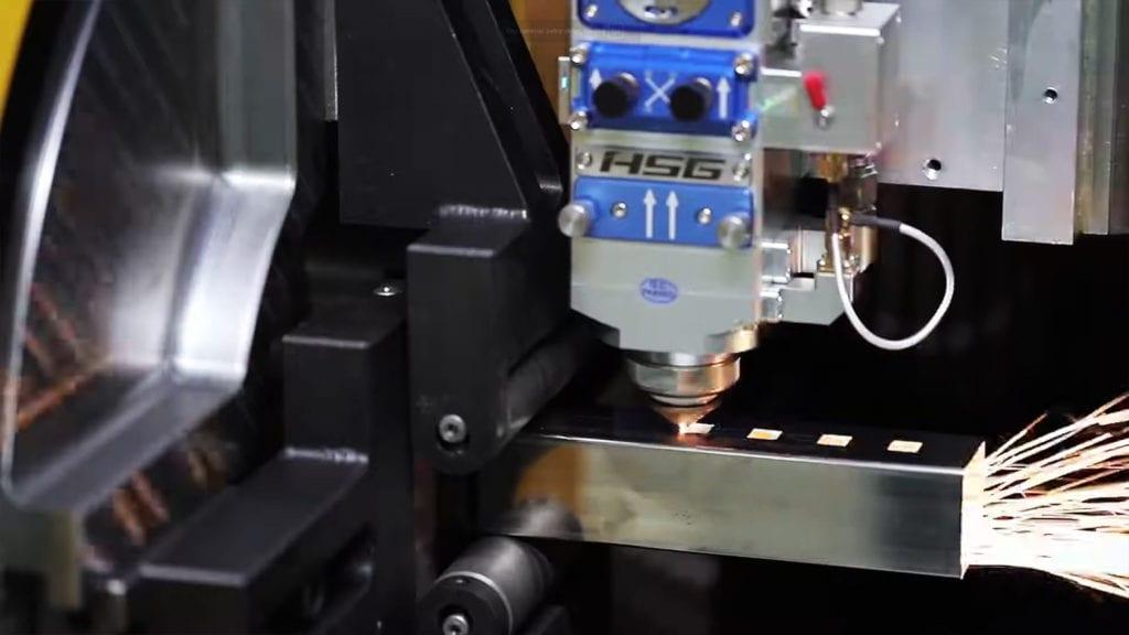 Cięcie laserem profili nierdzewnych