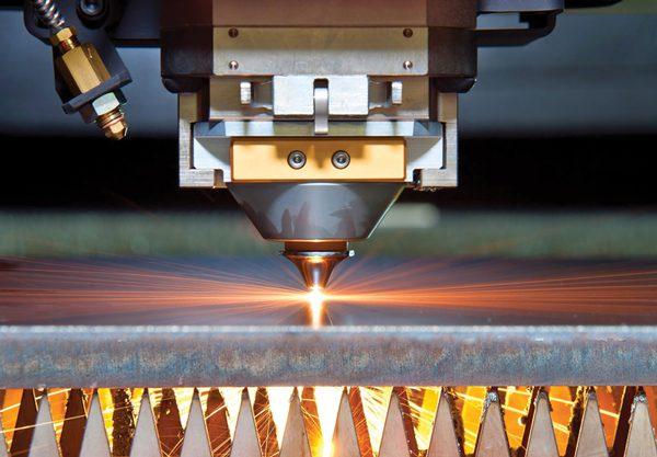 Cięcie laserem blach stalowych